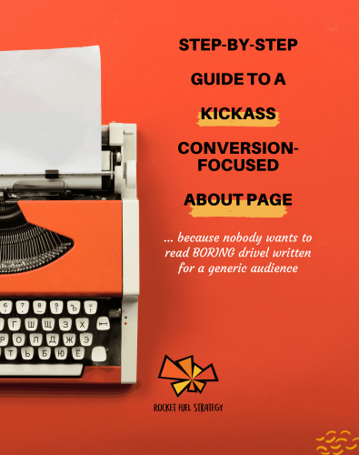 About Page Guide